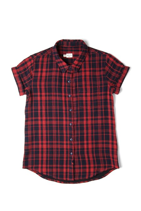 Bridge & Burn Bea - Navy Tartan