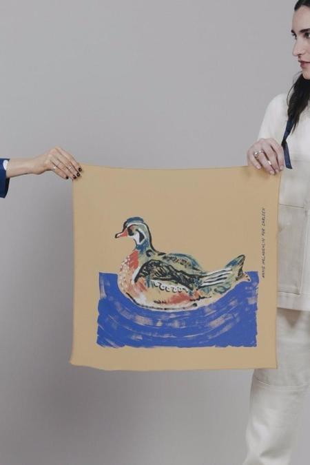 Carleen X Annie McLaughlin Duck Scarf