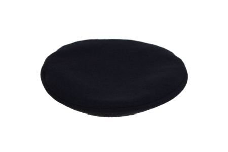 Clyde Classic Beret in Black Wool
