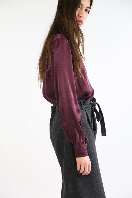 Just Female Egon Blouse - Deep Grape