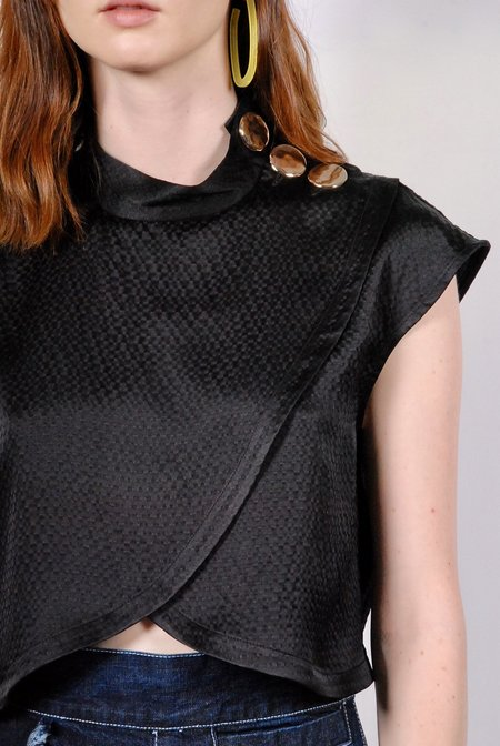 Rachel Comey Phelan Top - Black