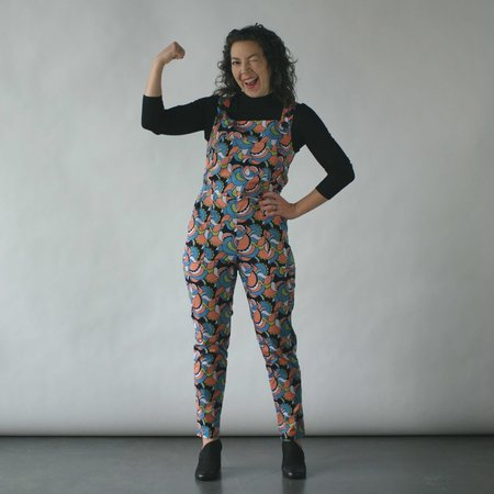Nooworks Overalls in Flower Power