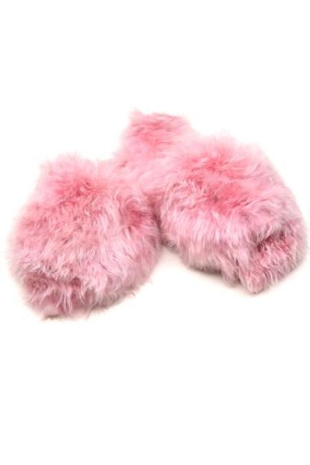 Ariana Bohling Alpaca Slide - Blush