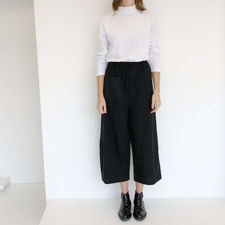 Open Air Museum Black Apron Pants