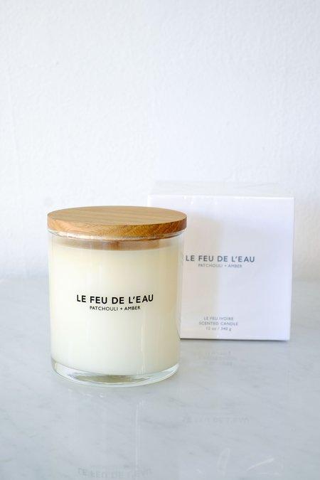 Le Feu De L'Eau Ivoire - Patchoulli + Amber