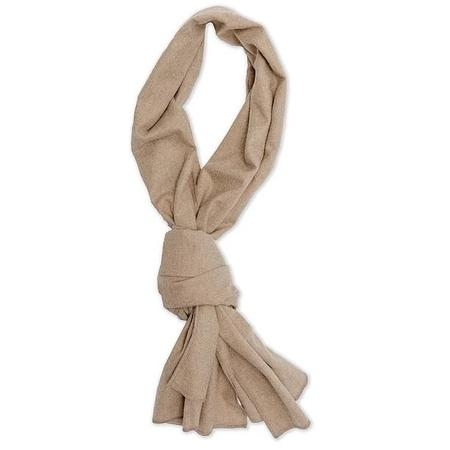 Kovalum Brushed Cotton Scarf - Camel