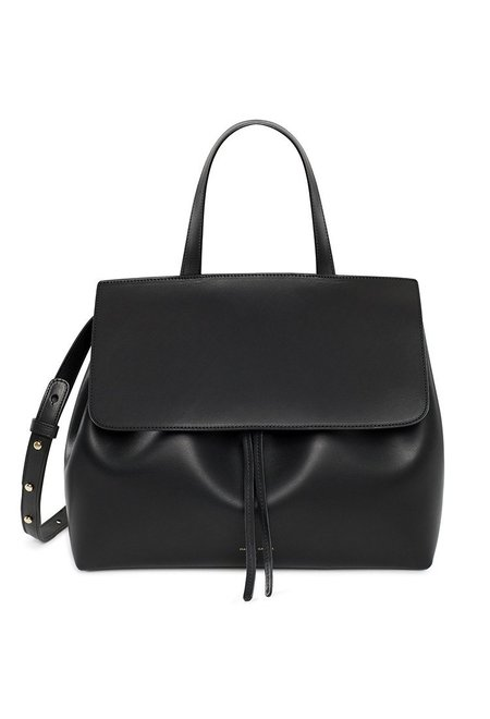 Mansur Gavriel Black/Flamma Lady Bag