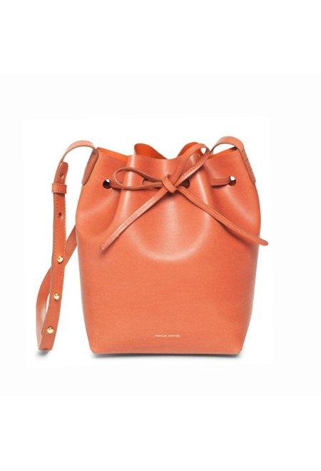 Mansur Gavriel Brandy/Brick Mini Bucket Bag