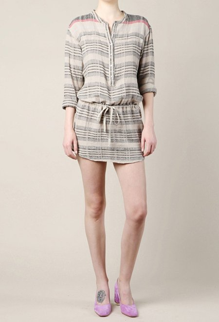Xirena Daryl Dress - Khaki Stripe