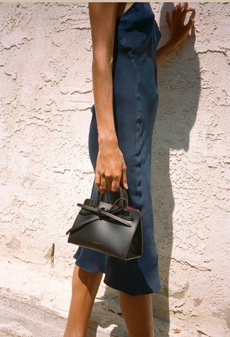 Mansur Gavriel Mini Mini Black Flamma Sun Bag