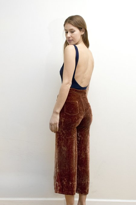Colorant High Waisted Velvet Pants | Various Colors