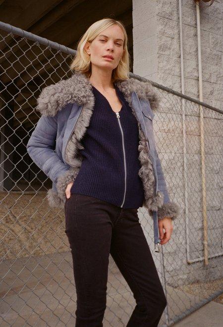 Sandy Liang Skyla Suede Jacket