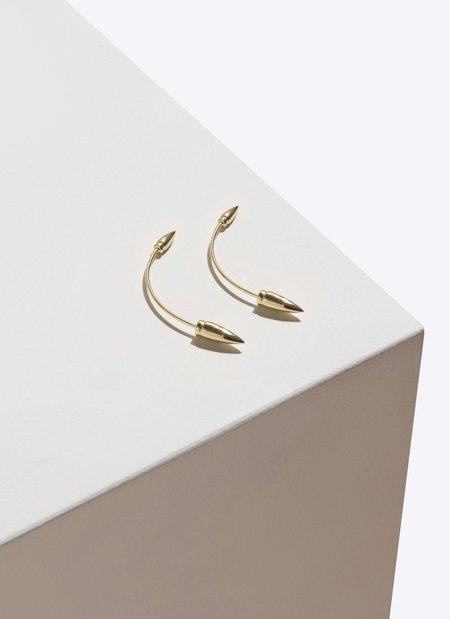 Pamela Love Double Spike Earring