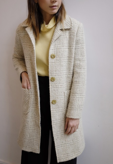 Hey Jude Vintage Wool/Mohair Coat