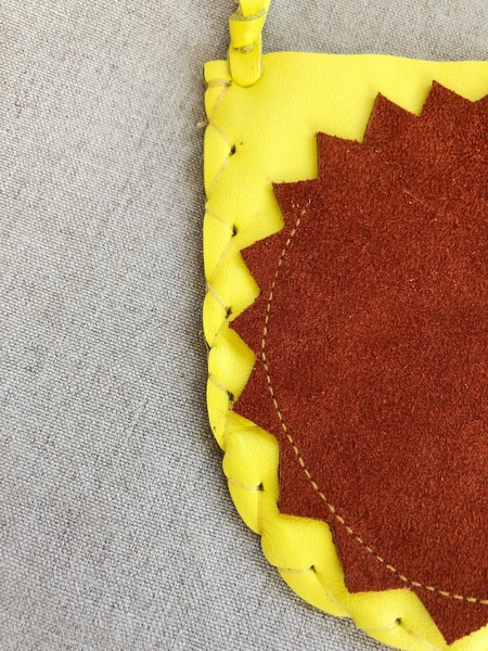 MANIMAL badge pouch - YELLOW