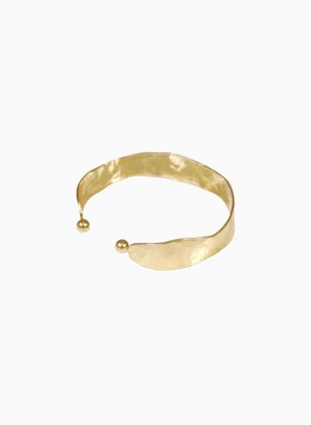 Young Frankk Wavy Hammered Cuff