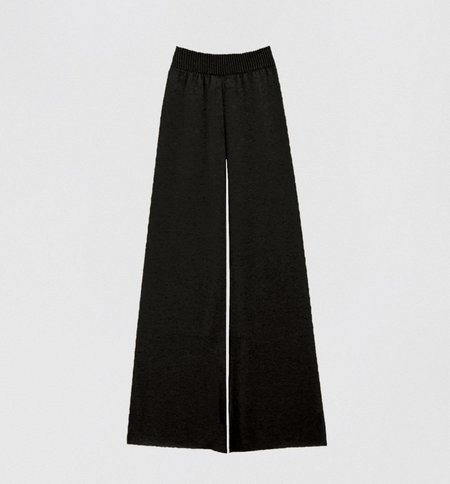 Ryan Roche Lightweight Cashmere Trousers - Black