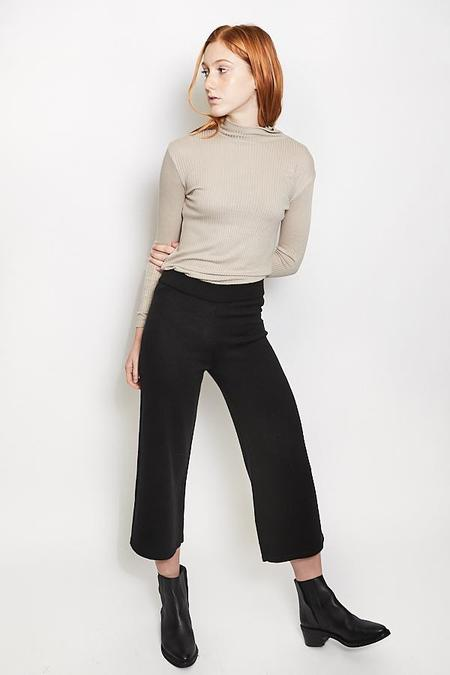 Ali Golden Sweater Pant / Black