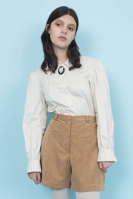 Samantha Pleet Cappuccino Shorts