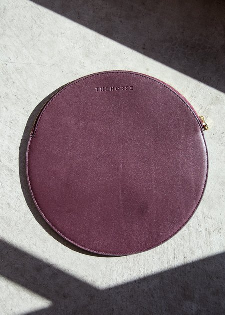 The Horse Moon Clutch - Plum