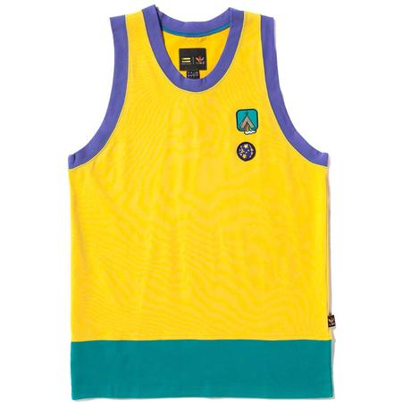 ADIDAS ORIGINALS BY PHARRELL WILLIAMS HU HIKING RACER BACK VEST - EQT YELLOW
