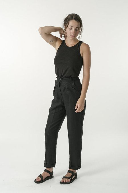 Good Studios Hemp Linen Pleat Pant