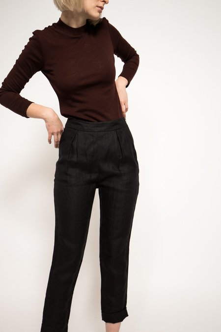 Band of Outsiders High Waist Pants