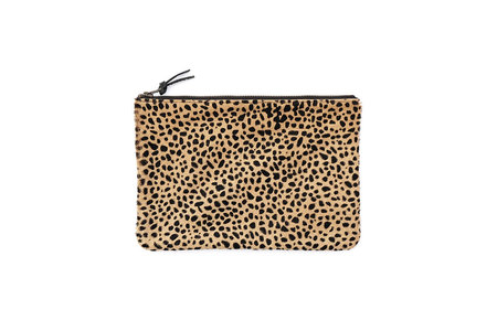 Primecut Tiny Spotted Cowhide Clutch