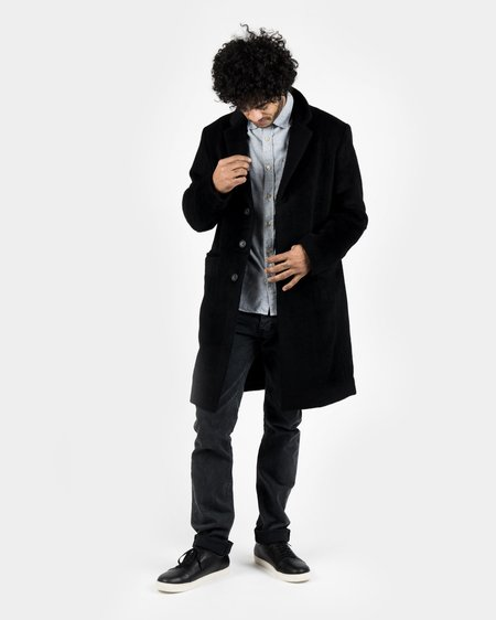 Maiden Noir Wool Overcoat
