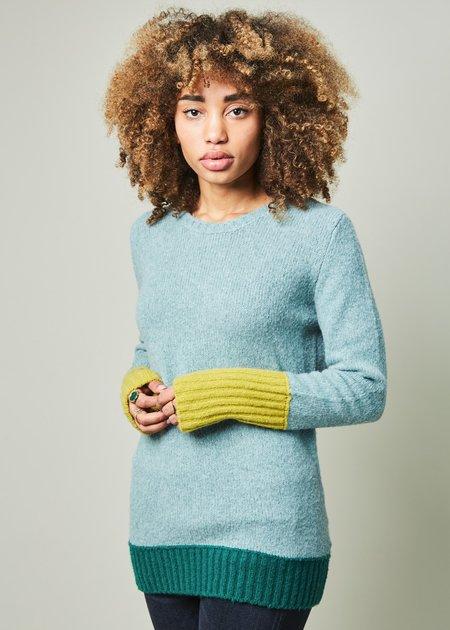 Odeeh Pop Cuff Knit Sweater