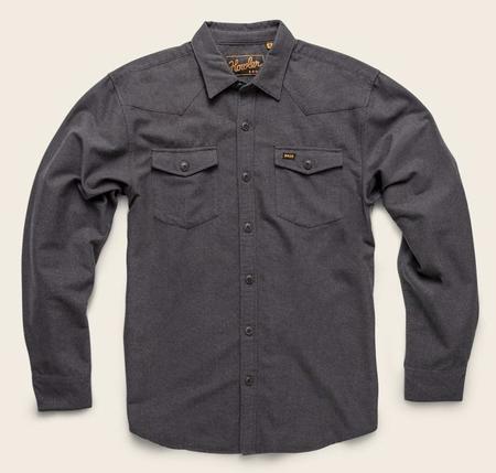 Howler Brothers Stockman Chamois Shirt - Pavement