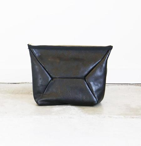 Ampersand as Apostrophe X-Pouch Clutch in Black Camouflage