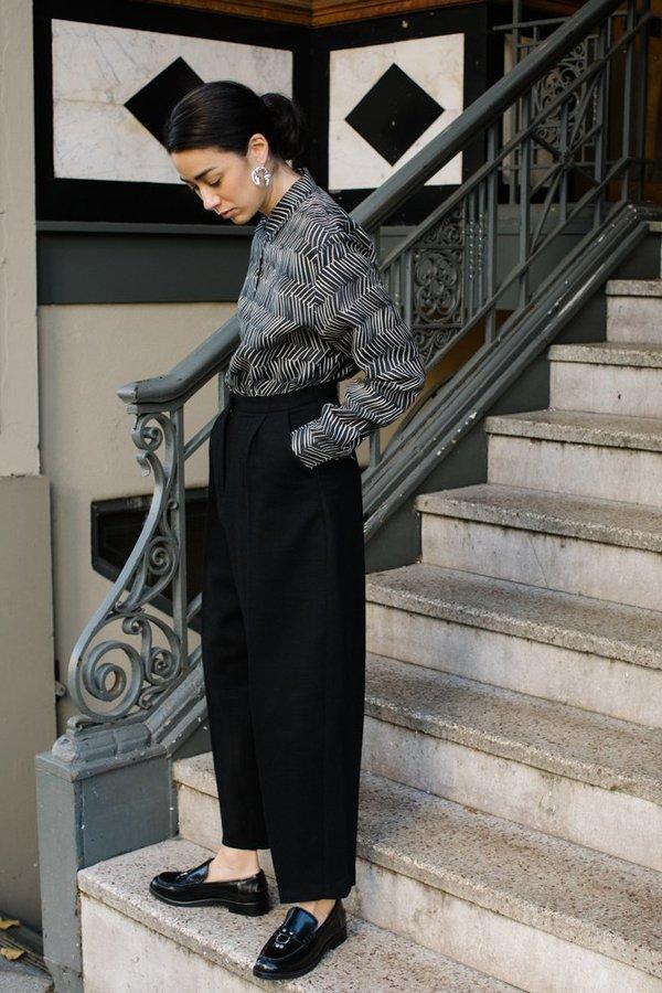 Samuji Gitta Shirt - Black