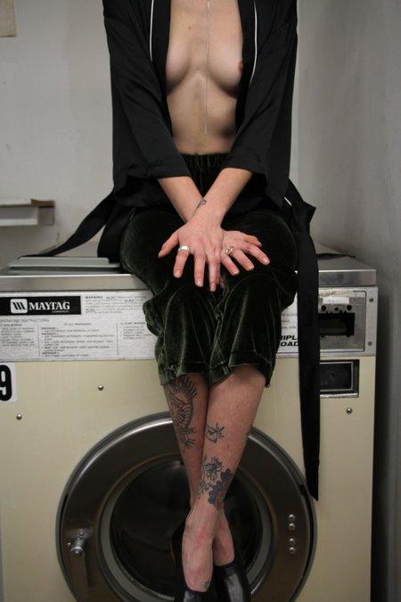 Unisex Ware Black Robe