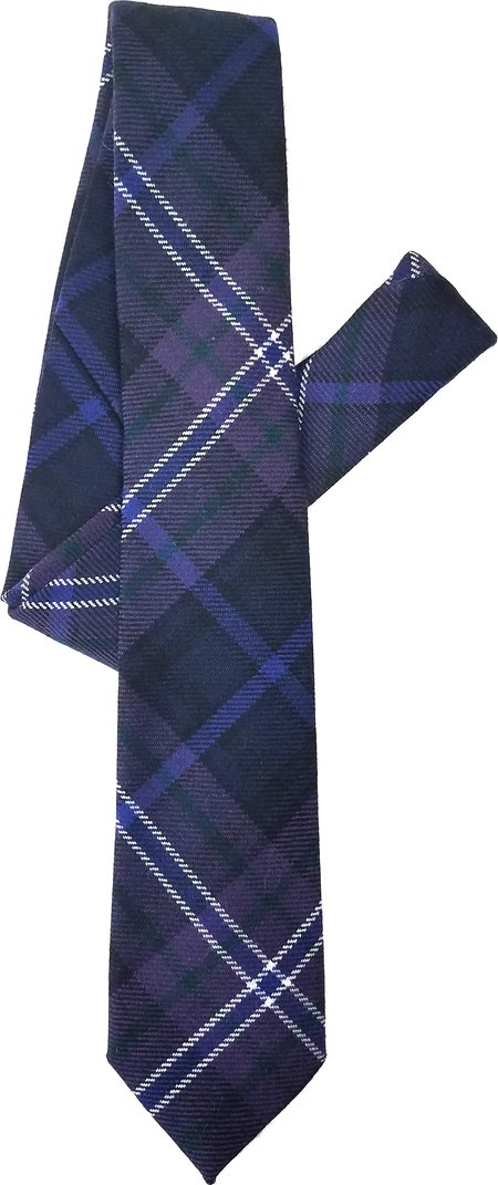 David Hart Lewis Tartan Tie