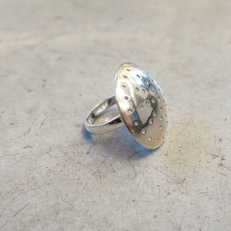 Another Feather Sterling Silver Albers Ring