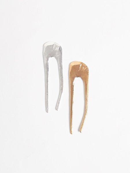 Nettie Kent Jewelry Dalis Hairpin - Silver