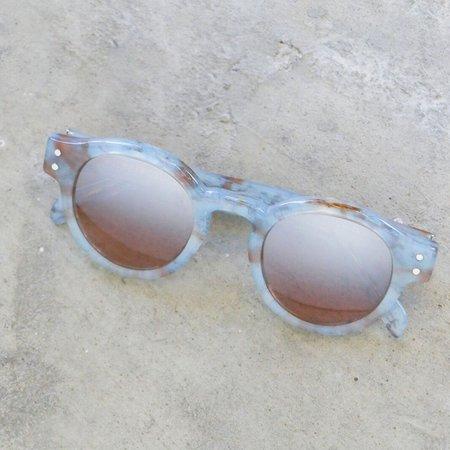 RetroSuperFuture Eddie Onice Azzurro Sunglasses