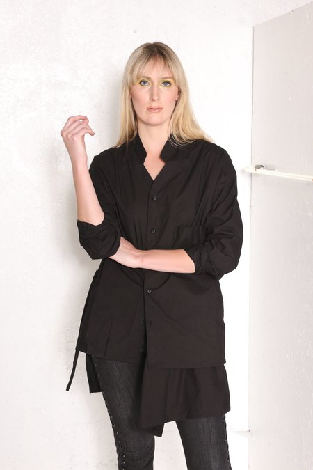 """Intentionally __________."" Kimi Apron Front Tunic"