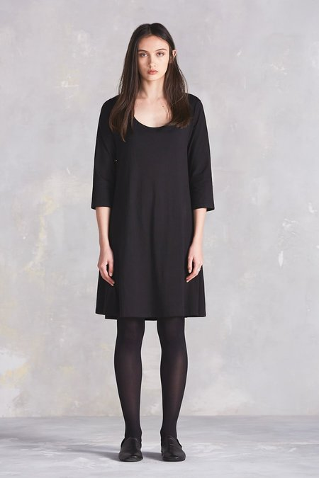 Kowtow Building Block Swing Dress - Black