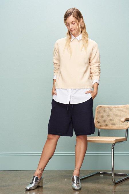 Kowtow Pavement Shorts - Navy