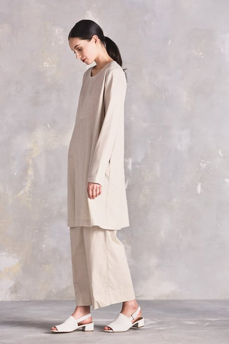 Kowtow Signal Dress - Oatmeal