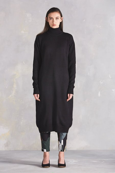 Kowtow Stage Sweater Dress - Black