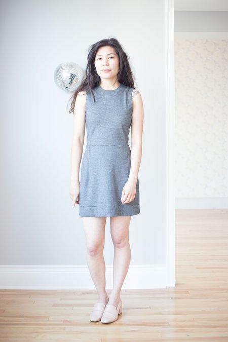 Betina Lou Joelle Dress - Black/White Stripes