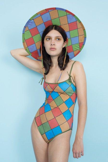 Samantha Pleet Prima Swimsuit - Harlequin