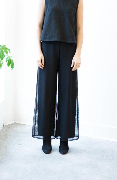 BACKTALK VINTAGE MESH OVERLAY BLACK PANTS M