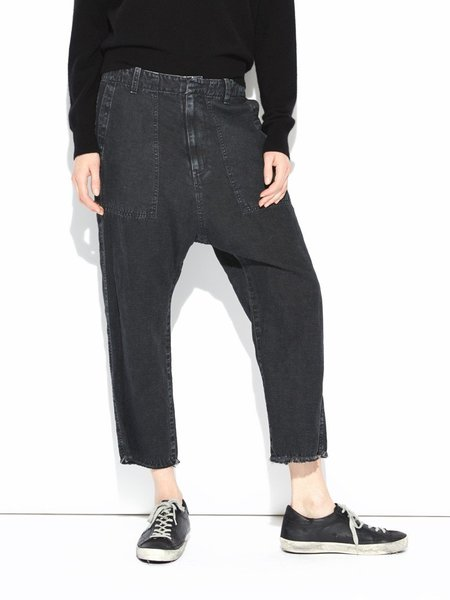 Nili Lotan Luna Pants - Washed Black