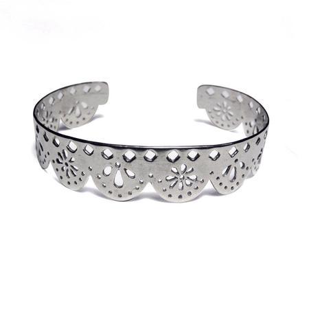 Ale Bremer Papel Picado Cuff Bracelet