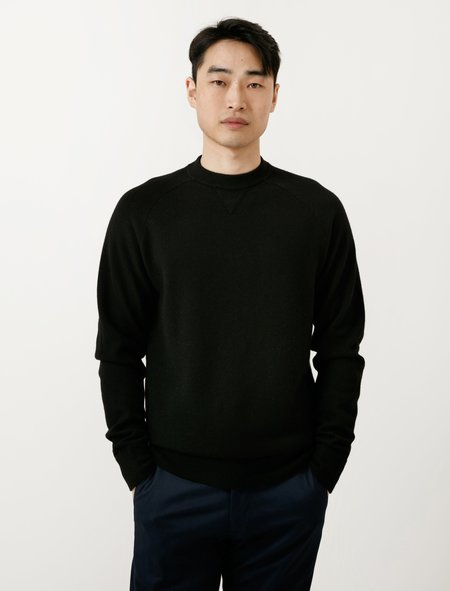 Norse Projects Magnus Boiled Wool - Black