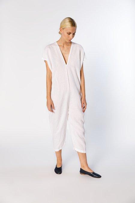 Miranda Bennett Everyday Jumpsuit, Linen in White